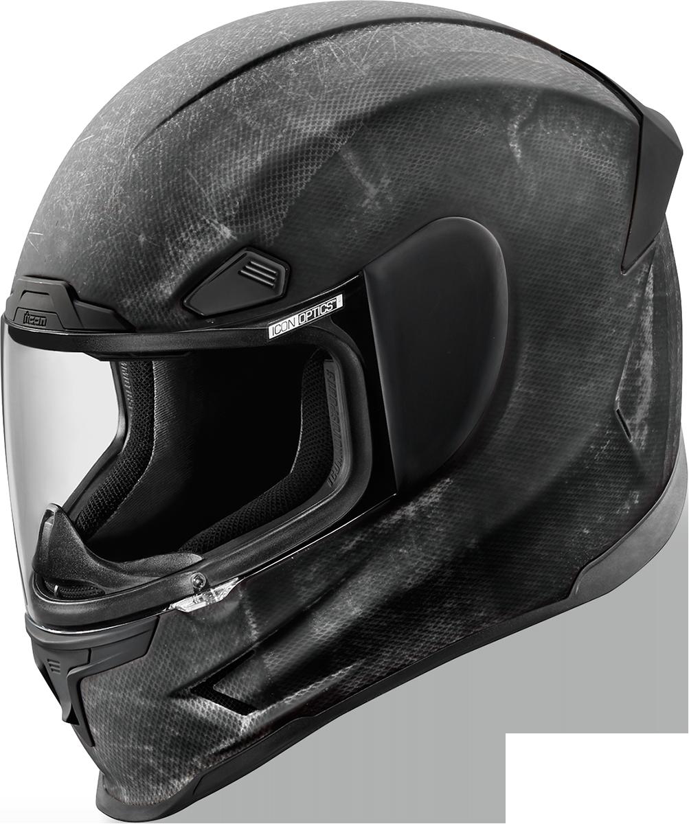 Icon Airframe Pro Construct black full face motorcycle riding helmet DOT ECE SAI