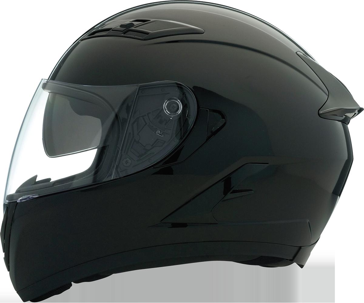 Z1R Strike Ops Black Drop Shield Fullface Motorcycle Riding Street Helmet Harley