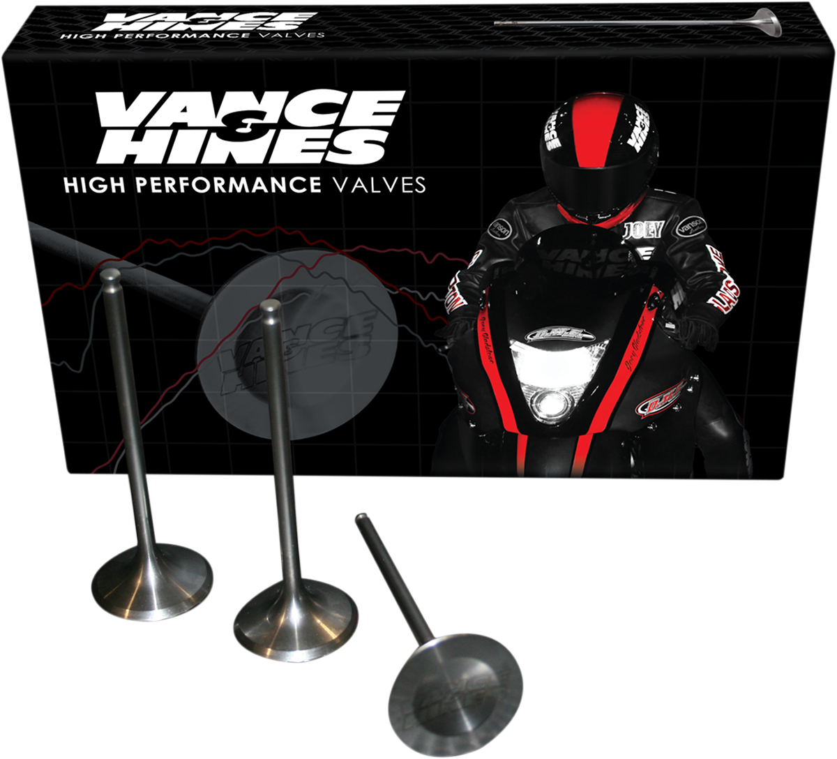 Vance & Hines Motorcycle Steel Intake Valve kit 99-15 Suzuki GXS1300R