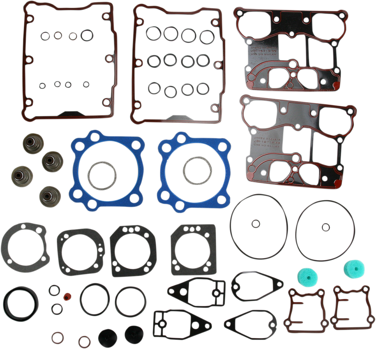 """James Gasket .036"""" Twin Cam Top End Gasket Kit 05-10 Harley Touring Softail Dyna"""