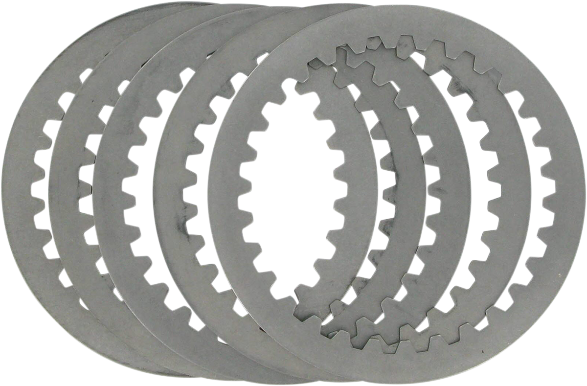 Steel Clutch Plate : Drag specialties steel clutch plate kit harley