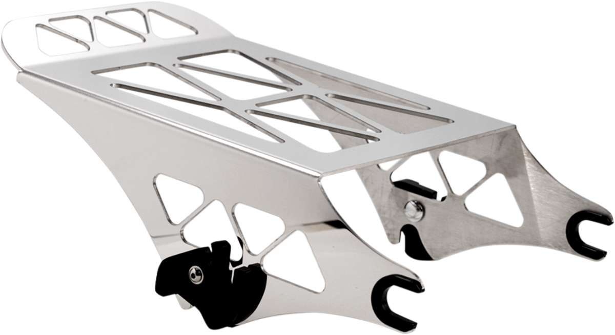 Pro Pad Polished Motorcycle Rear Luggage Rack 09-17 Harley Touring Bagger FLHX