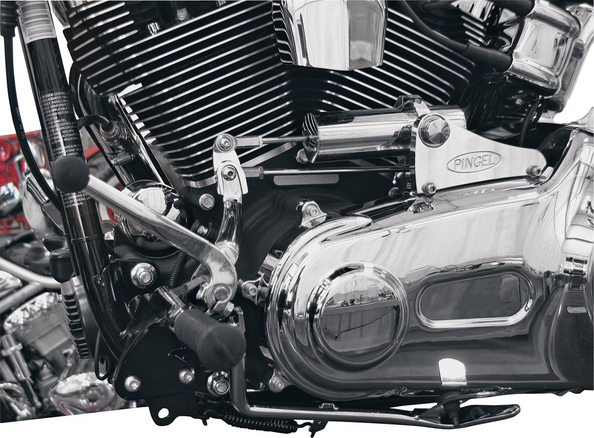 Pingel Chrome Electronic Easy Shift Kit 07-17 Harley Davidson Softail Breakout