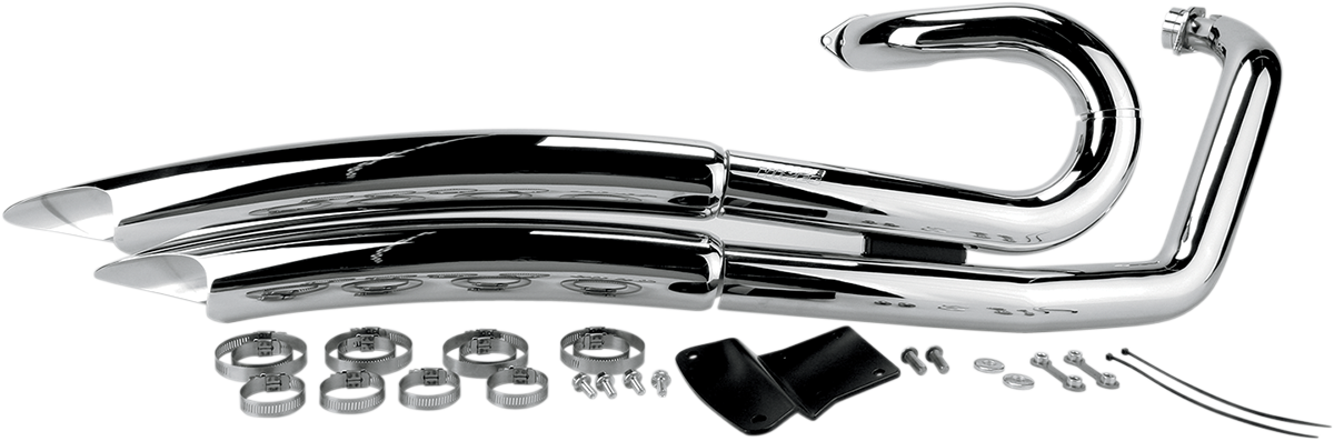 Vance & Hines Big Radius Chrome Full Exhaust System 09-14 Yamaha V-Star XVS950