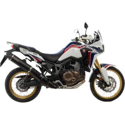 LEO VINCE (14028) Slip-On Exhaust Nero Africa Twin