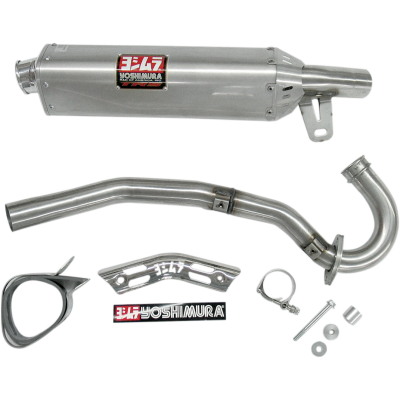 Yoshimura 2004-2005 Honda TRX450R TRC Full Exhaust System SS / AL (2275503-SA)