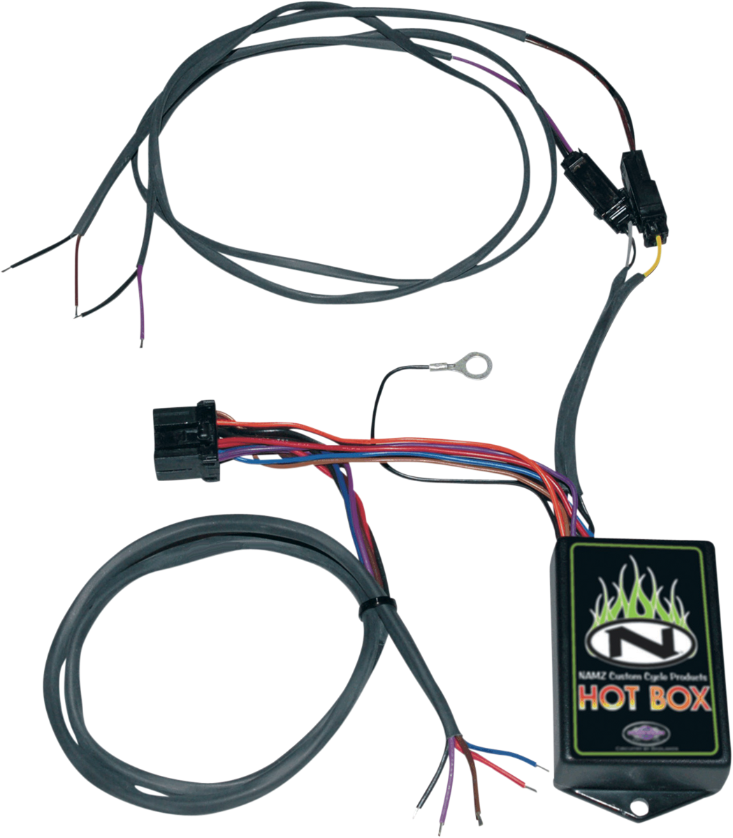 Wiring Harness Gets Hot Namz Box Run Brake Turn Rear Fender 96 16 Harley Dyna Xl