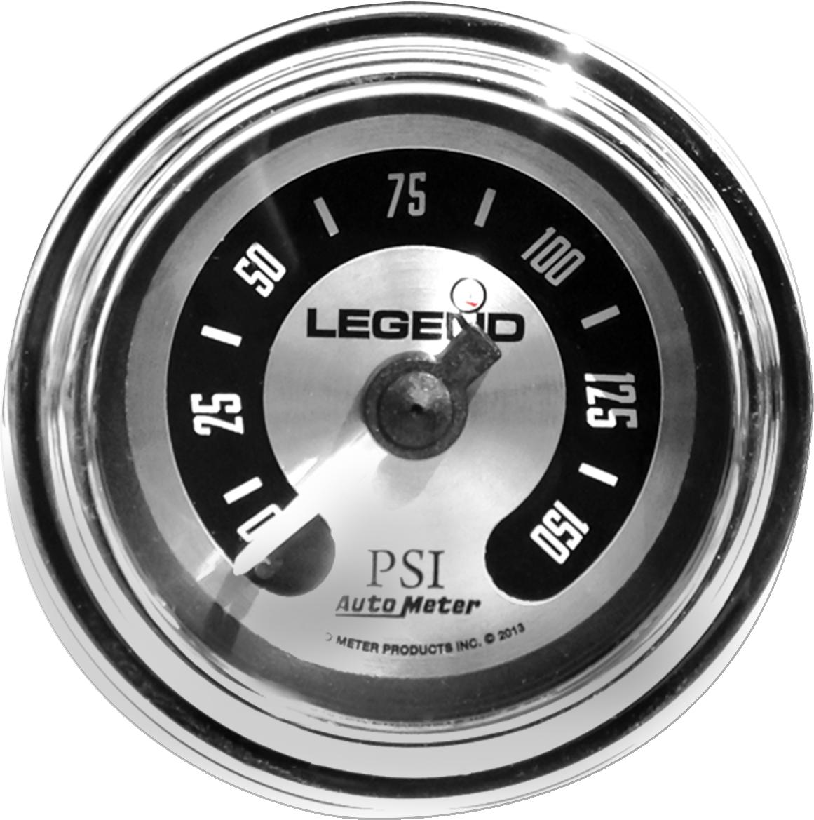 Legends chrome spun aluminum led front fairing psi air