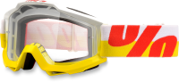 100% Goggle IN&OUT YL/RD CL