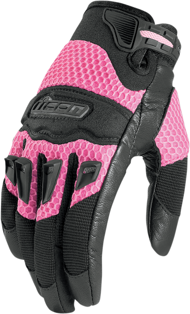 Womens pink leather motorcycle gloves - Store Categories