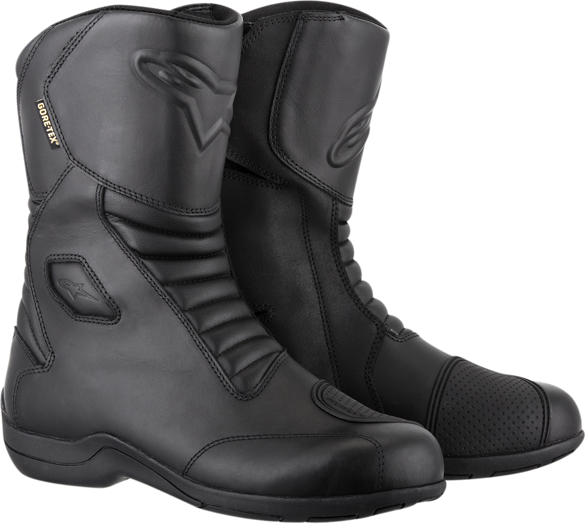 Alpinestars Mens Web Gore-Tex waterproof leather motorcycle riding boots