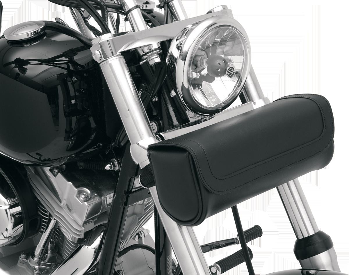 Saddlemen Black Highwayman Front Fork Motorcycle Tool Bag Pouch Harley Davidson