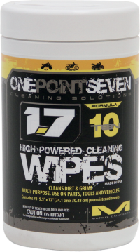 1.7 CLEANER WIPES 70PK