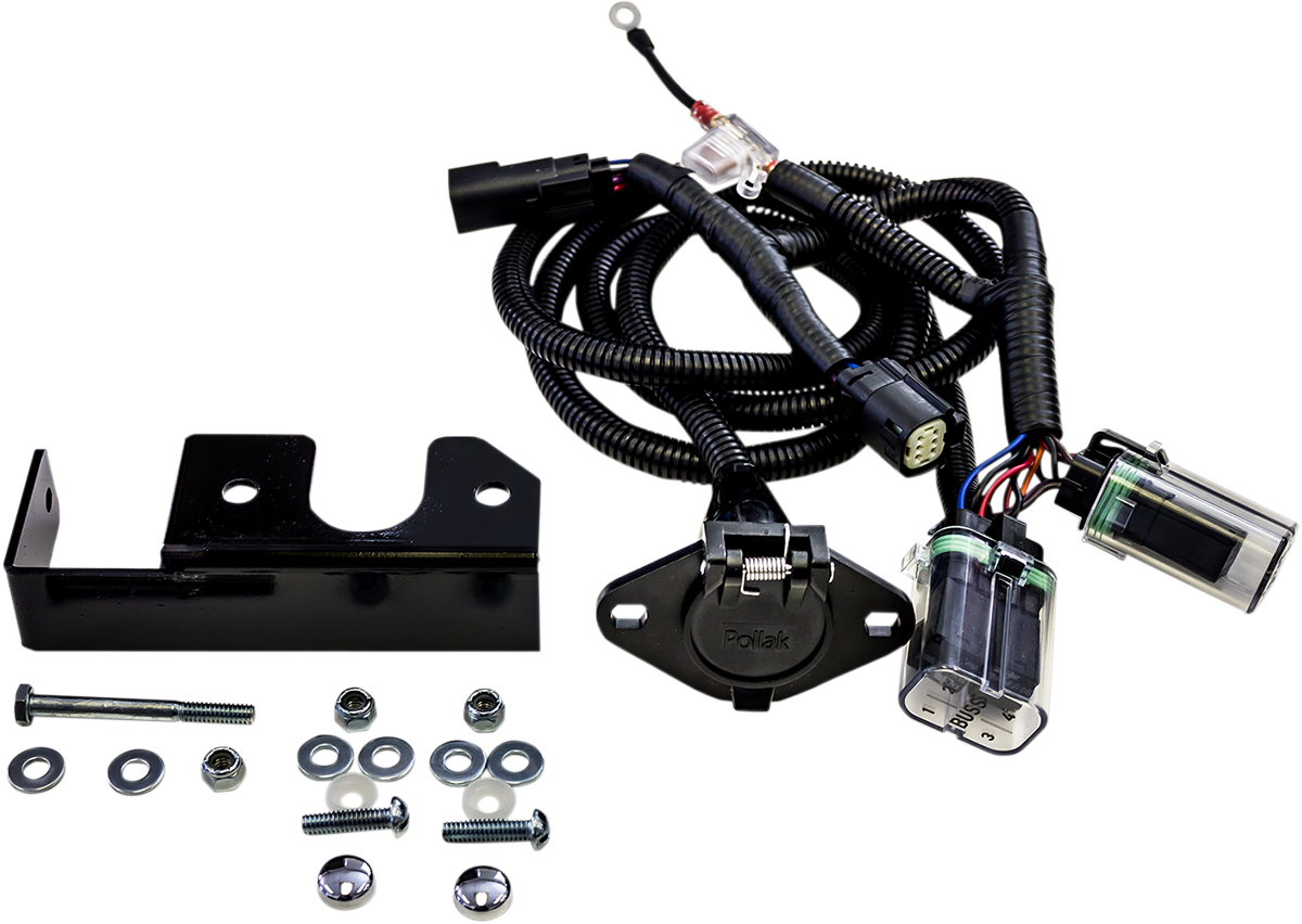 motor trike rear trailer wiring harness 14 16 harley. Black Bedroom Furniture Sets. Home Design Ideas
