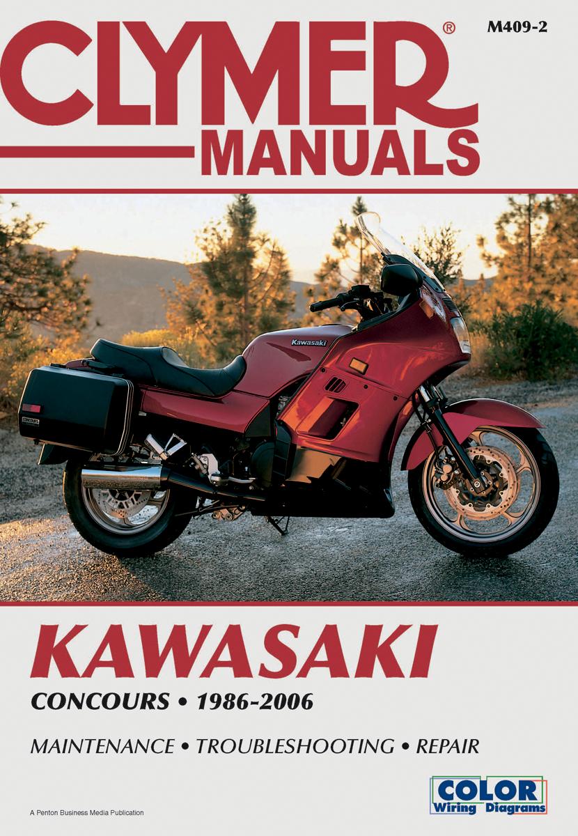 Kawasaki Concours Wiring Diagram Books Of 1979 Excalibur Clymer Repair Service Shop Manual Vintage Zg1000 Rh Ebay Com