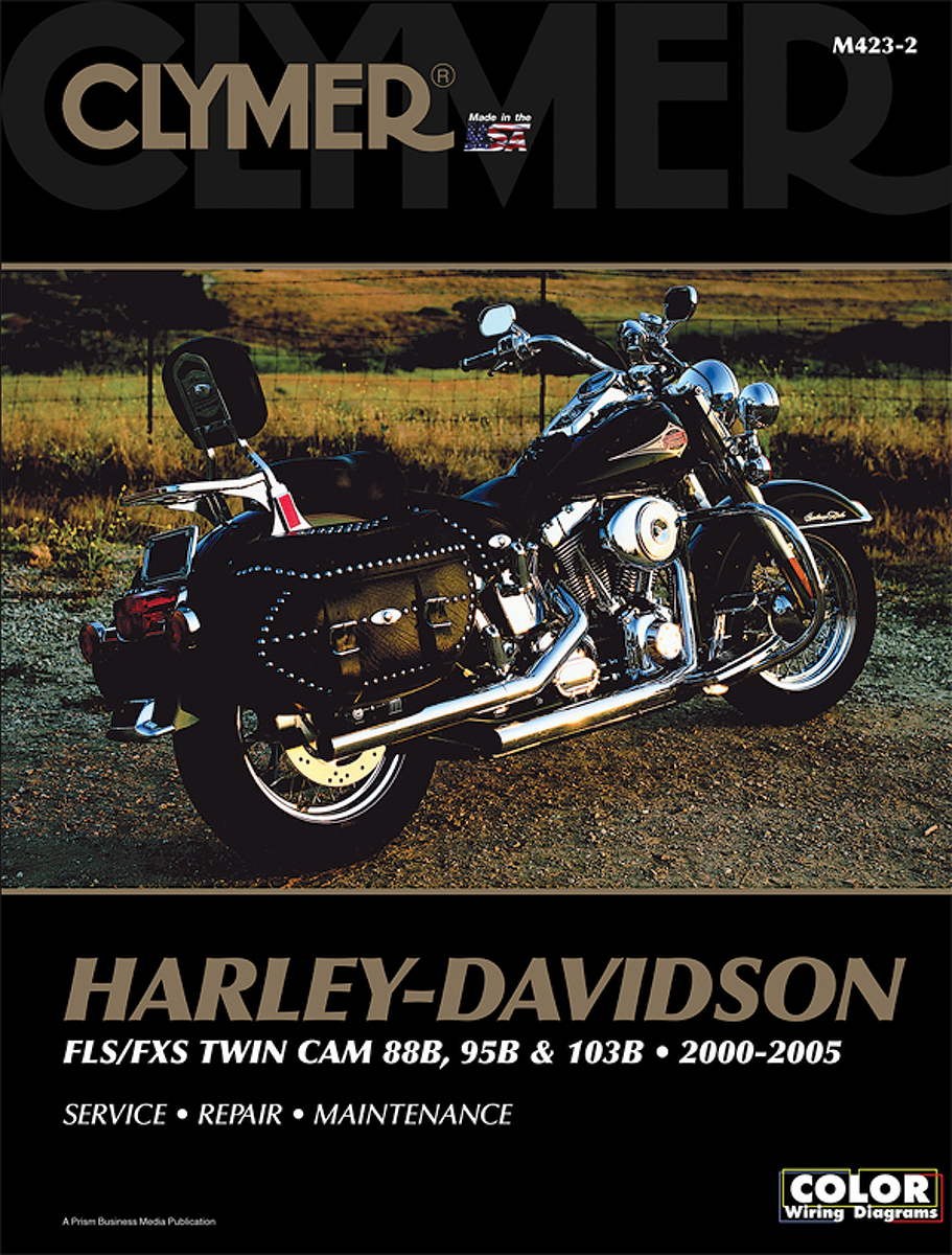 Flst Softail 2000 Harley Wiring Diagram Archive Of Automotive Davidson Clymer Motorcycle Repair Manual 00 05 Fxst Tc88 Rh Jtscycleparts Com