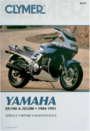 Clymer Repair Service Shop Manual Vintage Yamaha Fj1100 8485 Fj1200