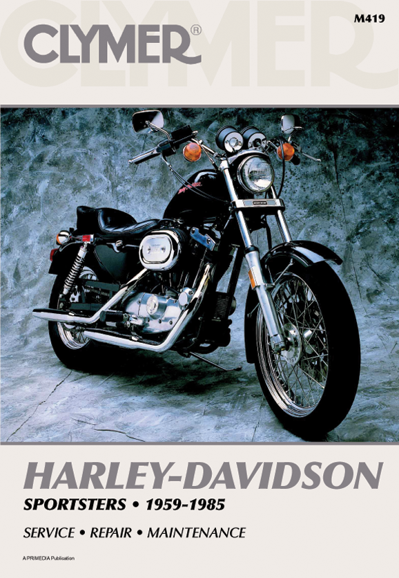Clymer Motorcycles Repair Manual For Harley Davidson Sportster 59-85 Xlch Xl 1000