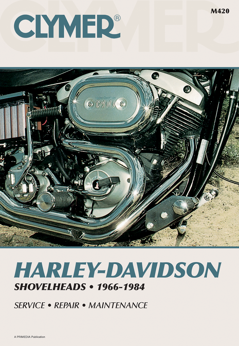 Clymer repair manual for Harley Davidson 66-84 shovelhead shovel FX FXSB FL FXB