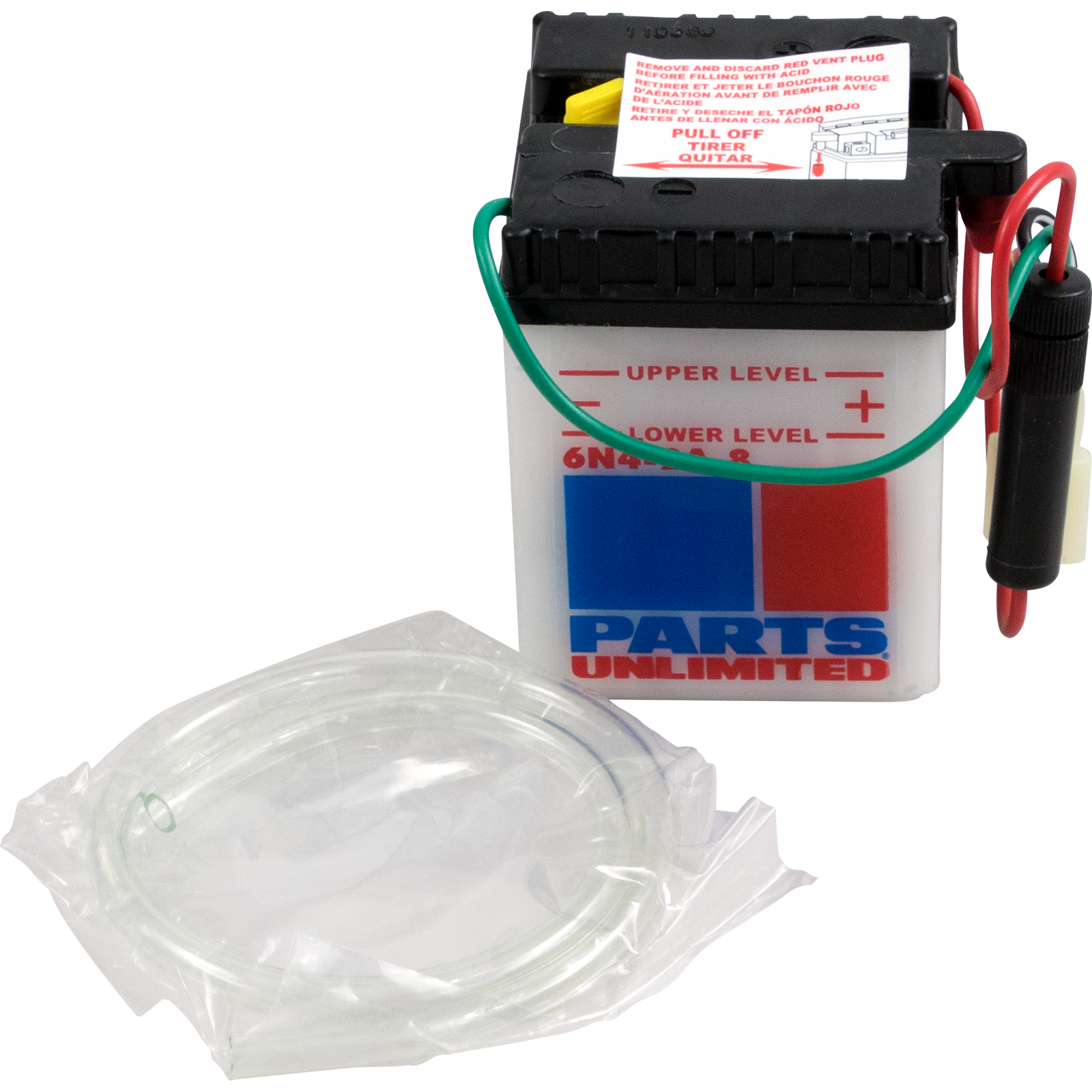 Parts Unlimited Conventional Motorcycle 6 Volt Battery 80-85 Honda CT110 70 XL80