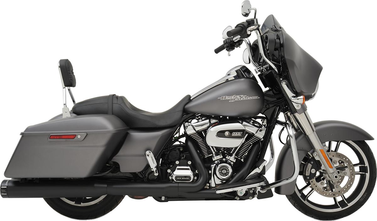 Khrome Werks HP-Plus Black Slip on Mufflers for 17-19 Harley Touring FLHR FLHX