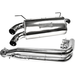 DOUBLE BARREL FULL EXHAUST SYSTEMS