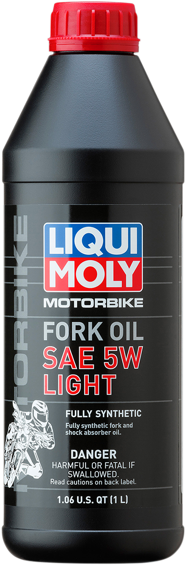 Liqui Moly 1 Liter 5W light Weight Motorcycle Front Fork Oil Fluid for Harley
