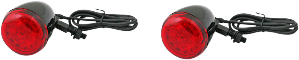 Custom Dynamic Black Probeam LED Rear Turn Signal Kit for Harley Davidson