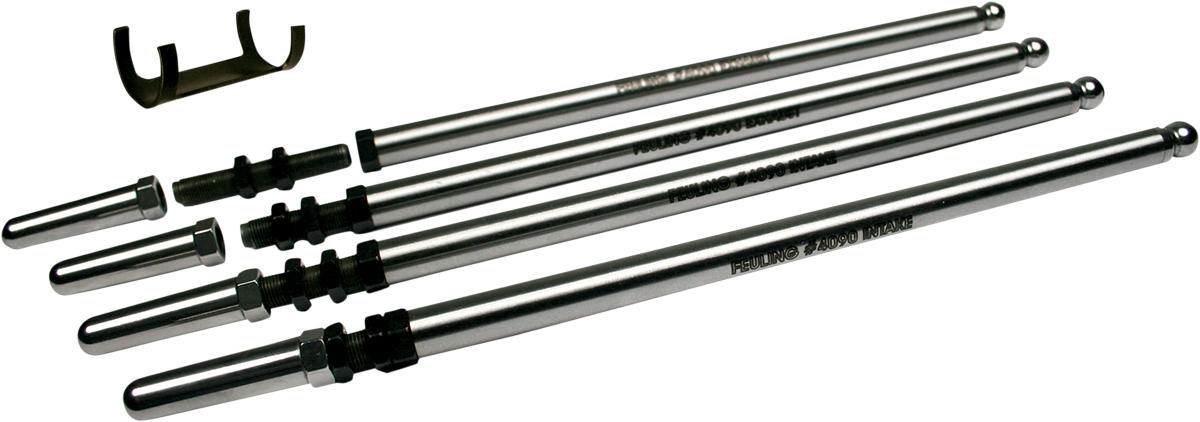 "Feuling 7/16"" Fast Install Push Rods for 84-00 Harley Dyna Touring Softail FXR"
