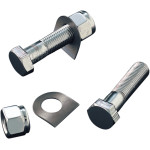 CHROME FOOTPEG MOUNTING HARDWARE