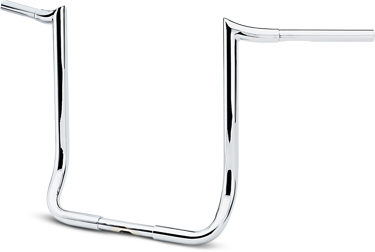 "La Choppers Chrome 18"" Prime Ape Handlebar for 83-19 Harley Touring FLHT FLHTC"