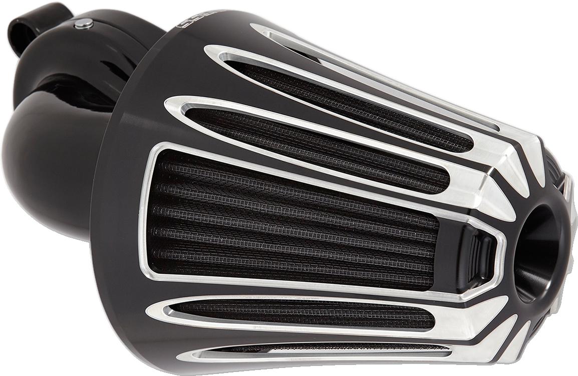 Arlen Ness Deep Cut Monster Sucker Air Filter Kit for 08-17 Harley Touring FLSS