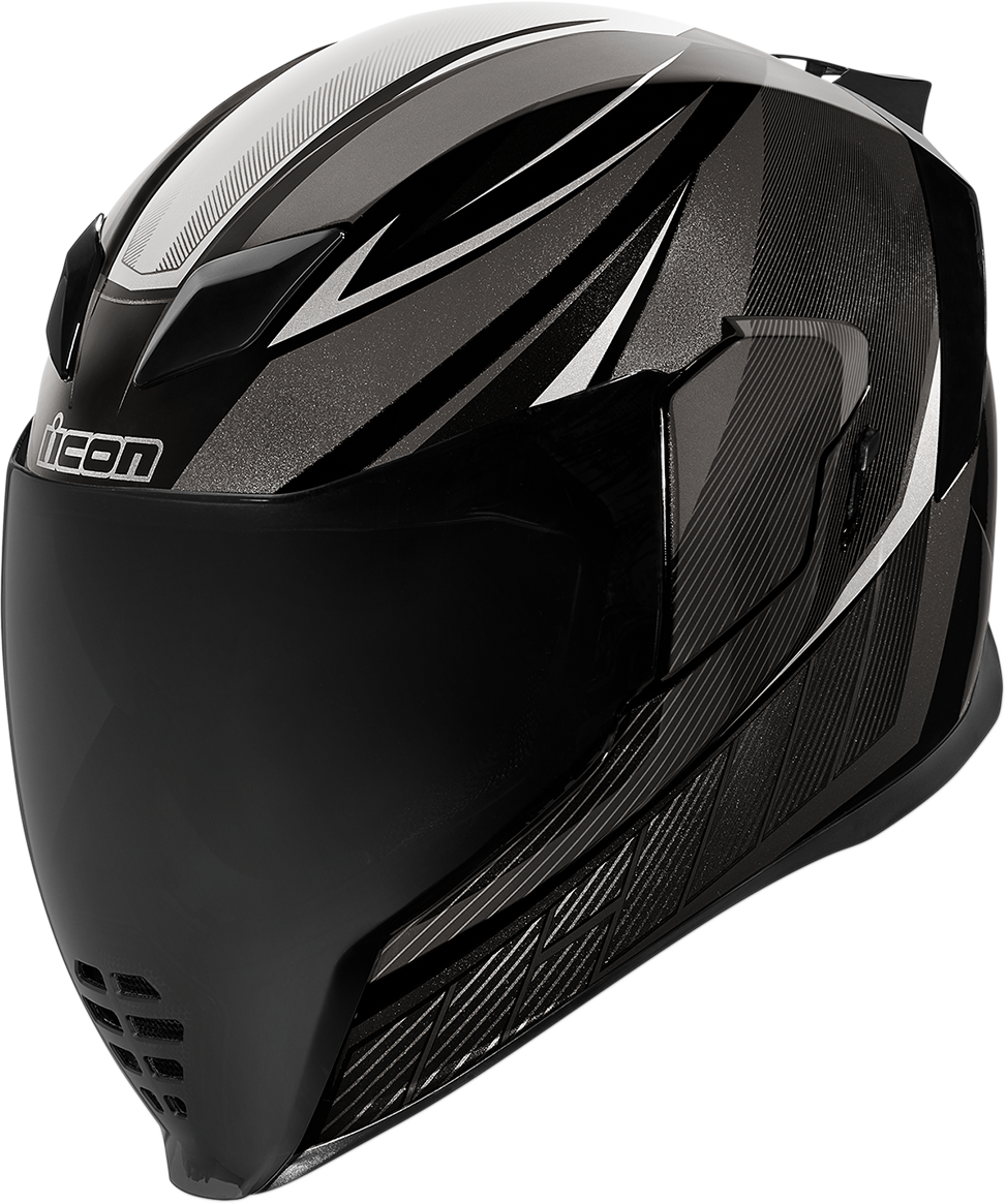 Icon Unisex Airflite QB1 Full Face Motorcycle Riding Street Racing Helmet