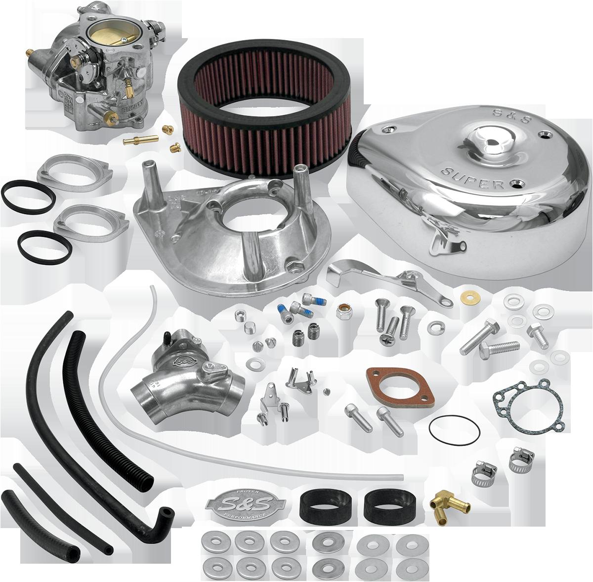 "S&S Super E 1 7/8"" Carburetor Manifold Kit for 84-91 Harley Dyna Touring Softail"