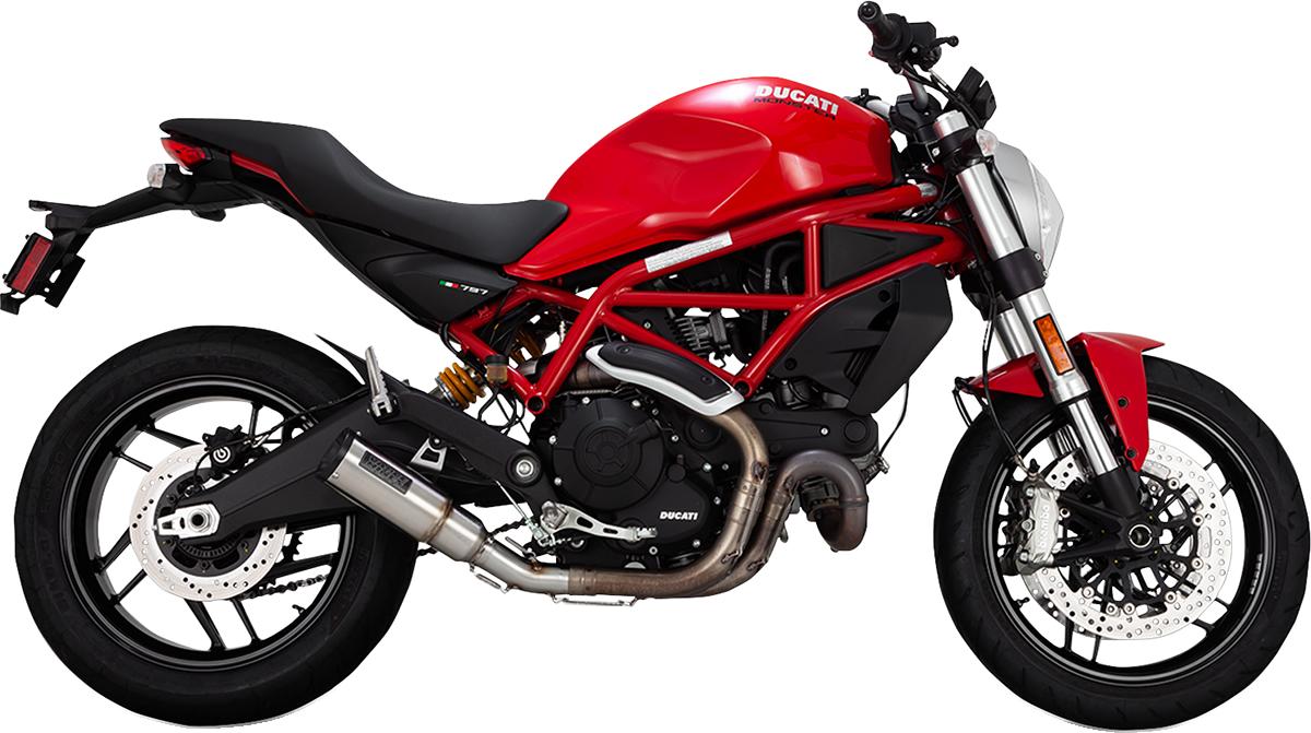 Vance & Hines High Output Slip on Exhaust Muffler for 15-18 Ducati Scrambler