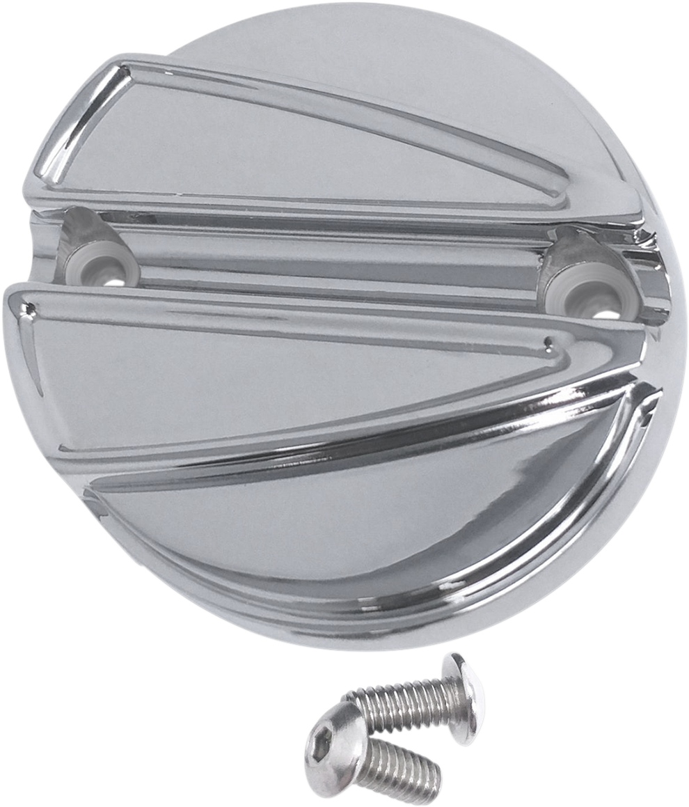 Covingtons Chrome Ripper Points Cover for 17-18 Harley M-Eight