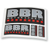 BBR DECAL SHEET