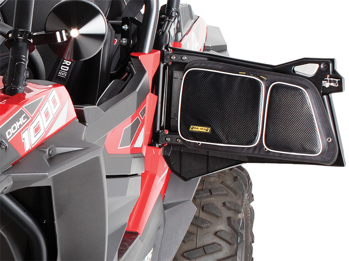 Nelson Rigg Black Rear Upper Door Storage Bags for 14-18 Polaris RXR 900 1000