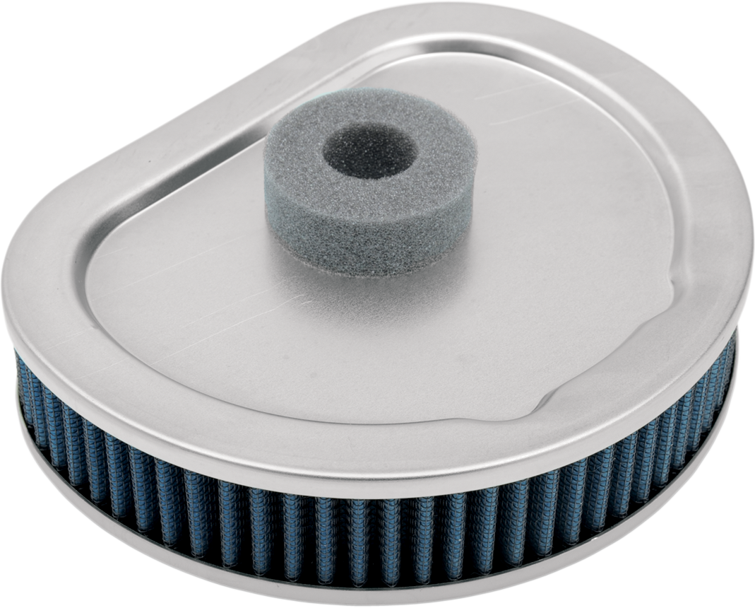Drag Specialties Blue Gauze Reusable Air Filter for 90-00 Harley Dyna Touring