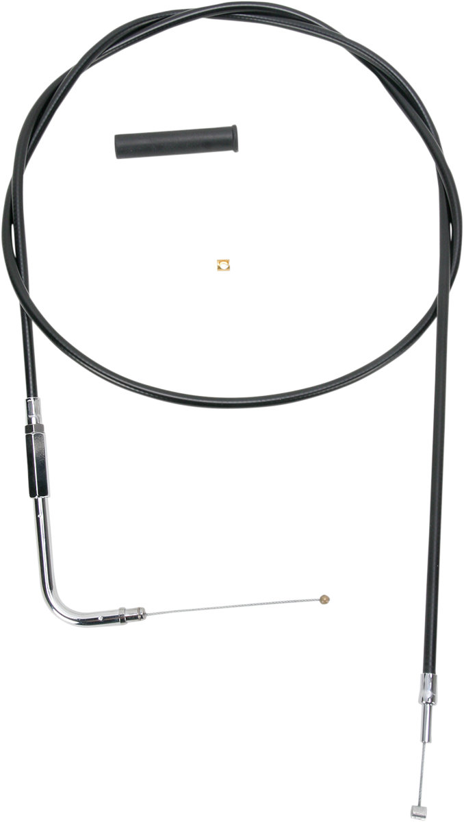 """Drag Specialties 52"""" Vinyl Handlebar Throttle Cable 96-20 Harley Softail Touring"""