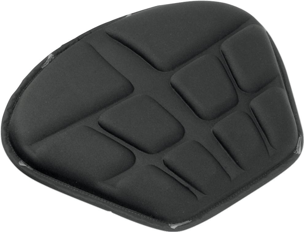 Saddlemen Black Rear Tech Memory Foram Saddlegel Seat Pad for Harley Davidson