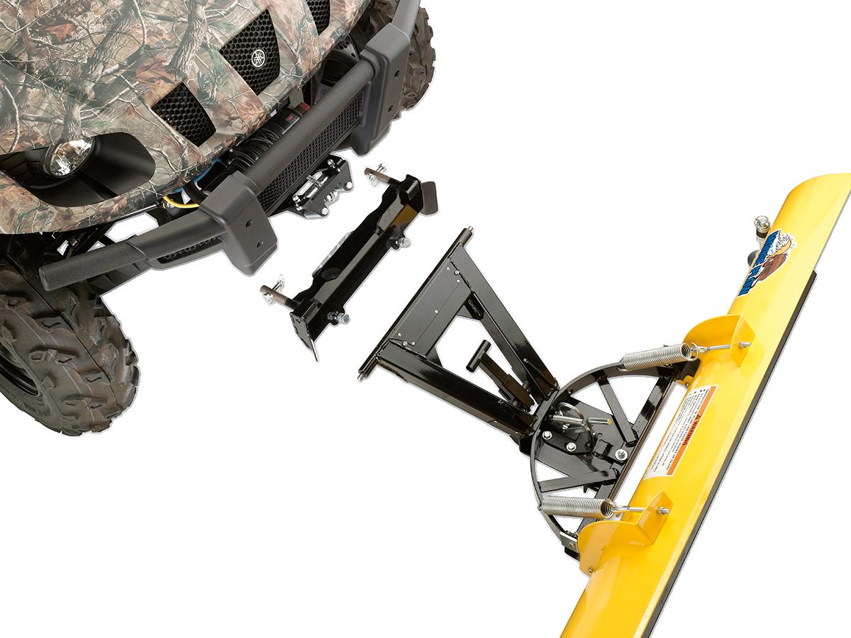 Moose RM4 UTV Snow Plow Mount Plate Kit for 08-13 Yamaha YXR 700FI Rhino 4x4