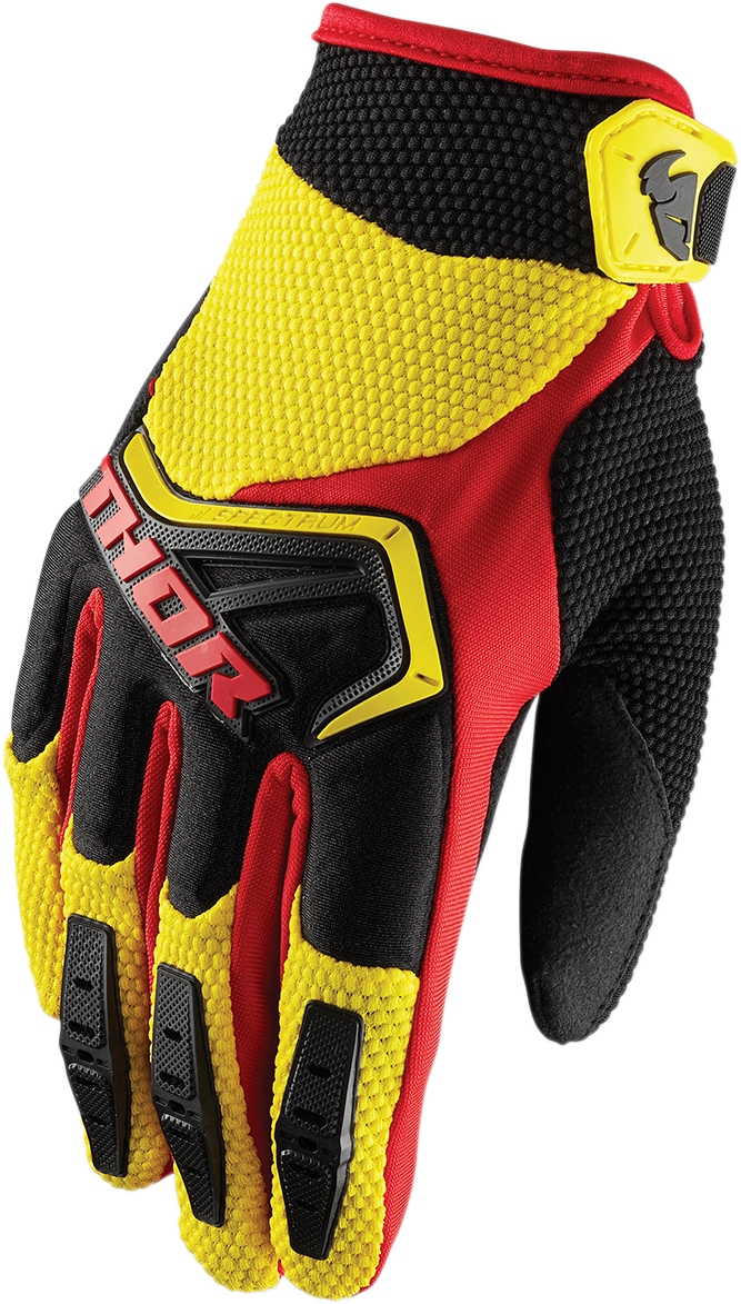 Thor Spectrum Pair Kids Youth Offroad Riding Dirt Bike Racing Padded Gloves