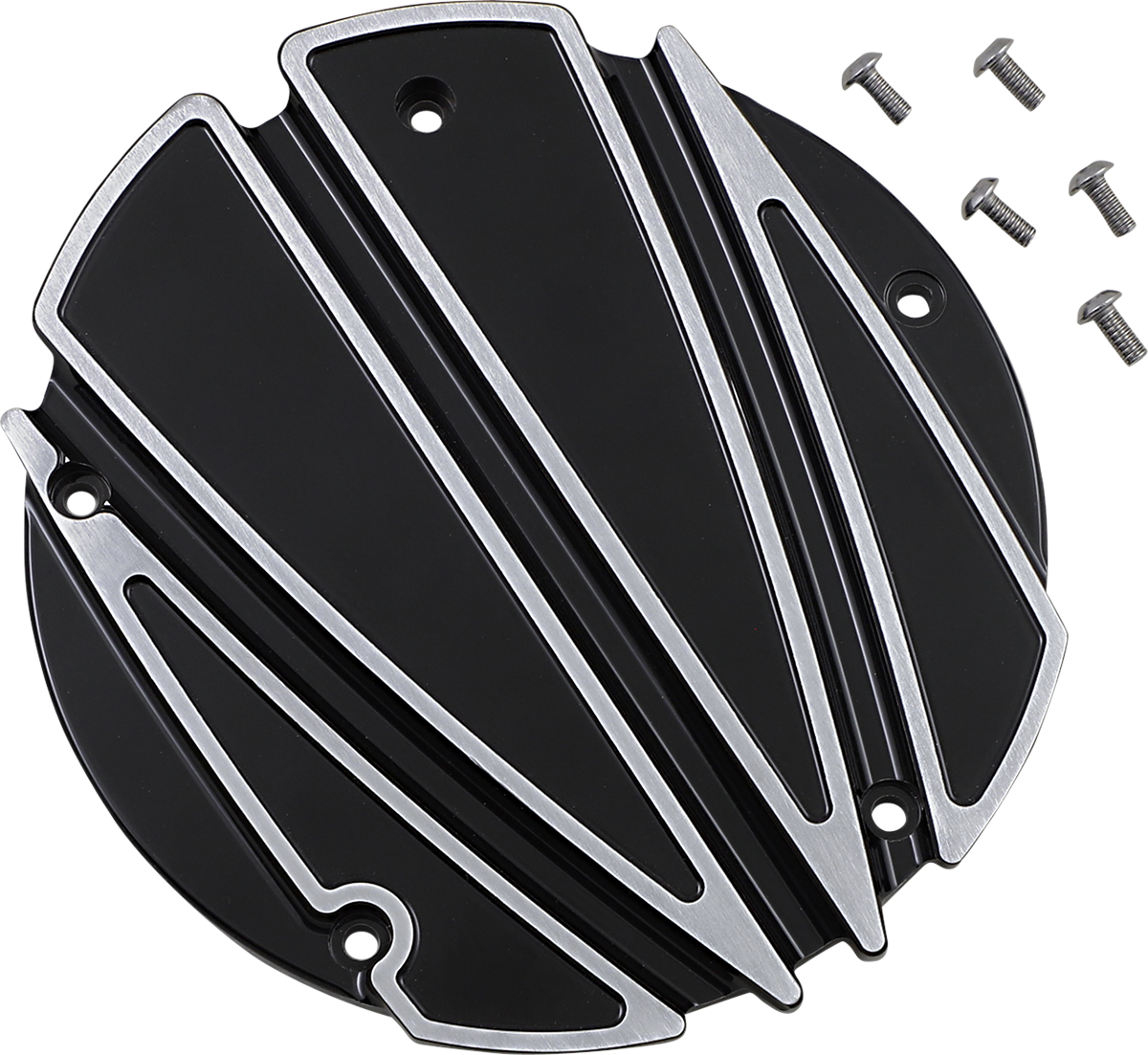 Covingtons Black 5 Hole Motorcycle Derby Cover 16-20 Harley Touring FLHX FLHR