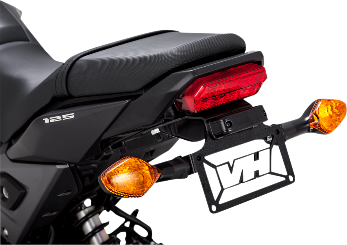 Vance & Hines Matte Black Fender Eliminator Kit for 17-19 Honda Grom MSX125