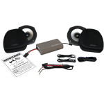 "7"" FAIRING LOWER WOOFER KIT WITH 225 AMP"