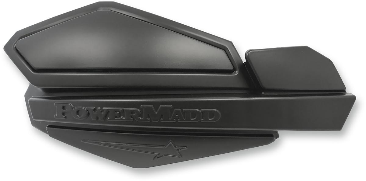Powermadd Hydraulic Clutch Handlebar Handguards & Mount Kit 14-16 Harley Touring