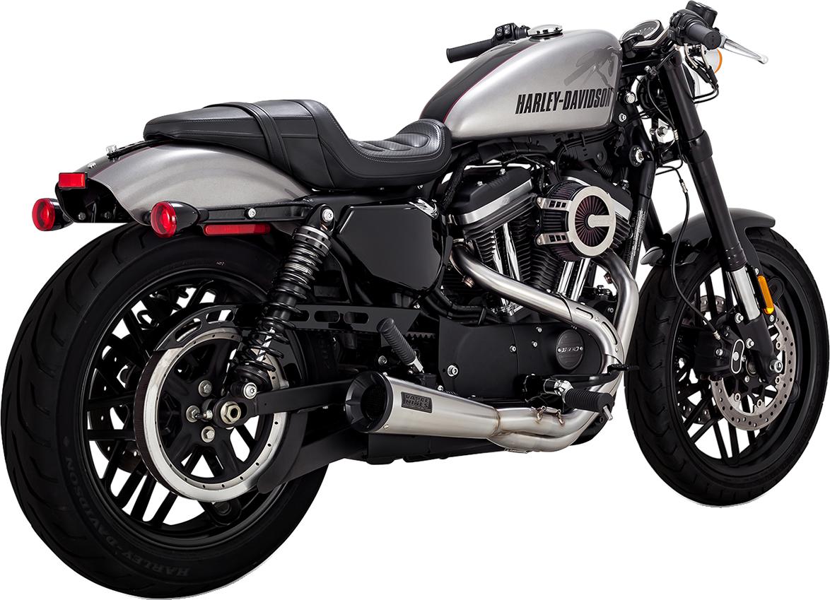 Vance & Hines 2-1 Stainless Steel Upsweep Exhaust 04-20 Harley Sportster XLC XLX
