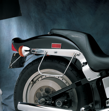 Details About Drag Specialties Saddlebag Support Brackets Mounts 84 99 Harley Softail FLSTF