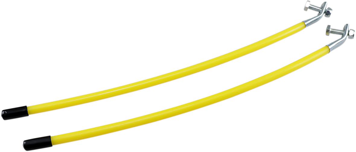 """Moose Utility Yellow 16"""" ATV UTV Side by Side Snow Plow Side Edge Markers"""
